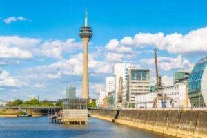 Düsseldorf - Hafen - Rheinturm