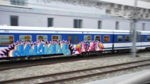 Enormer Sachschaden durch Graffiti Sprayer