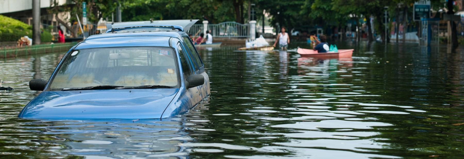 Flutkatastrophe: Bedrohung durch Plünderungen