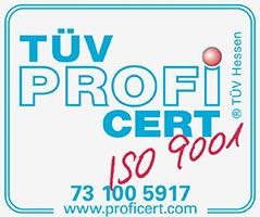 TÜV- zertifizierter Empfangsdienst